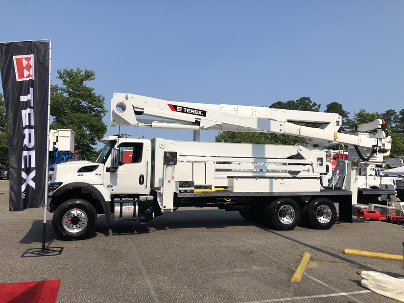 terex aerial device