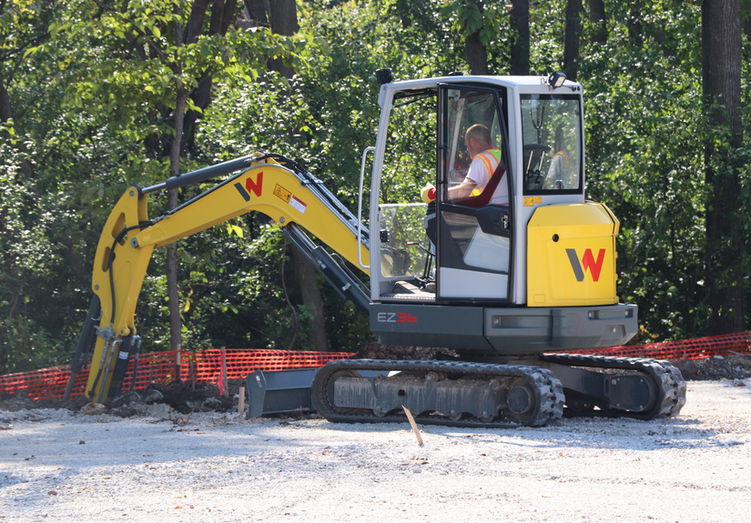 Wacker Neuson new EZ36 compact excavator
