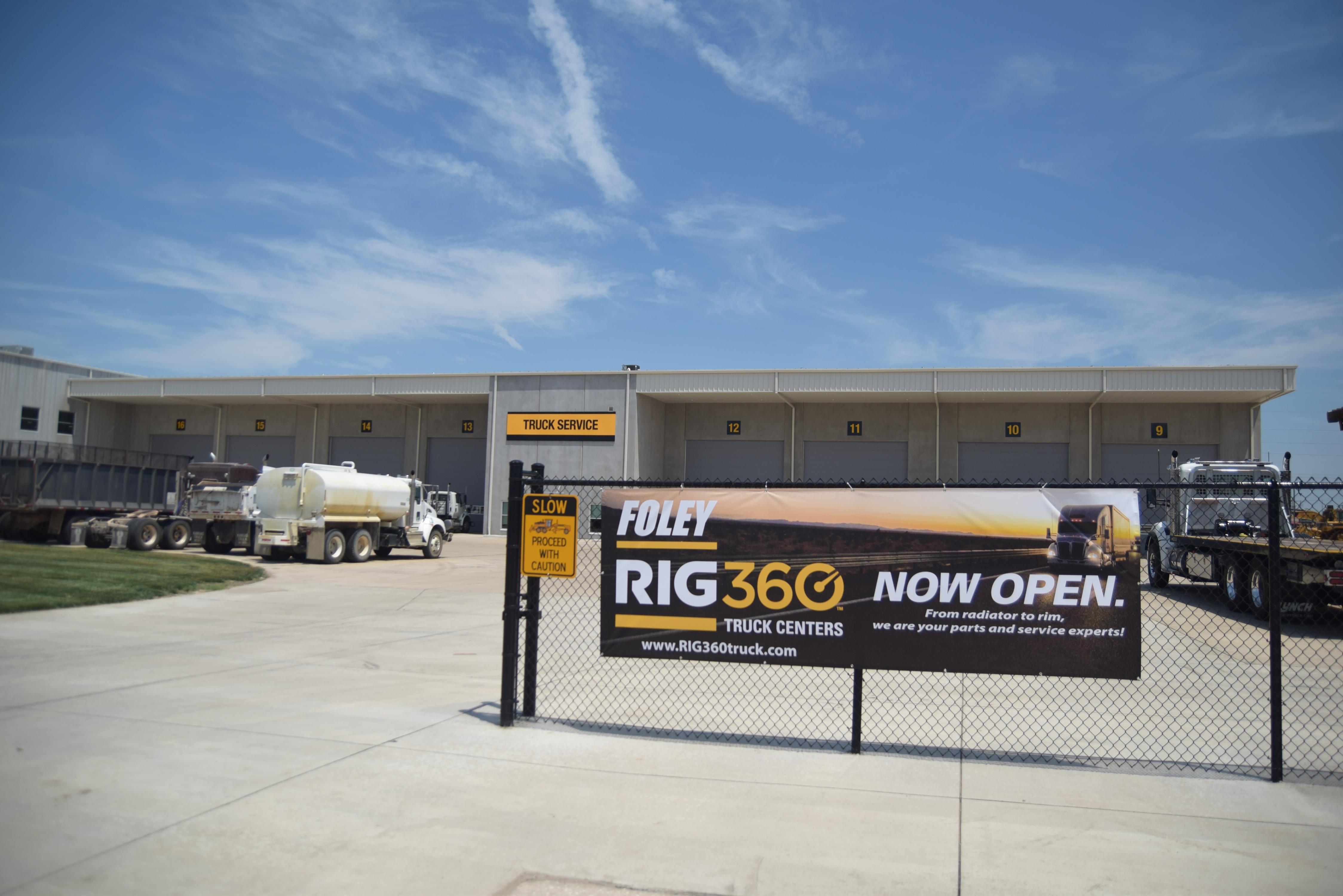 Foley Equipment的RIG360卡车中心