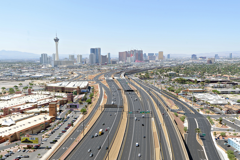Most expensive Nev. public works project Las Vegas Project Neon nearly finished