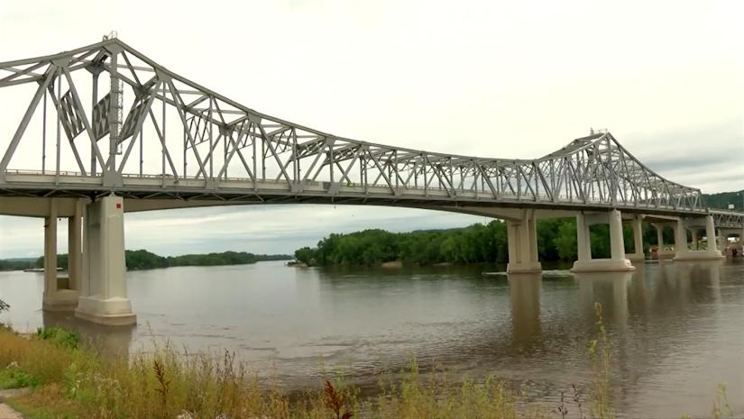 Highway 43 bridge in Winona, Minnesota