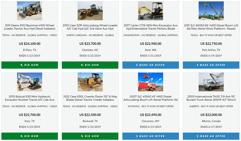Bidadoo studies 50% progress in its on-line tools auctions