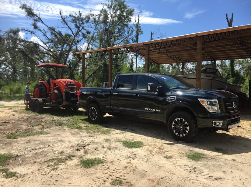 2019 Titan XD towing package