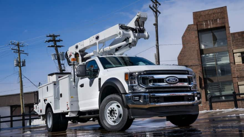 2020 Ford Super Duty chassis cab