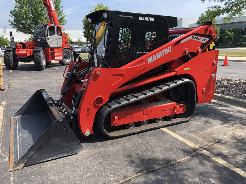 Manitou Launches Compact Construction Equipment With Manitou Name