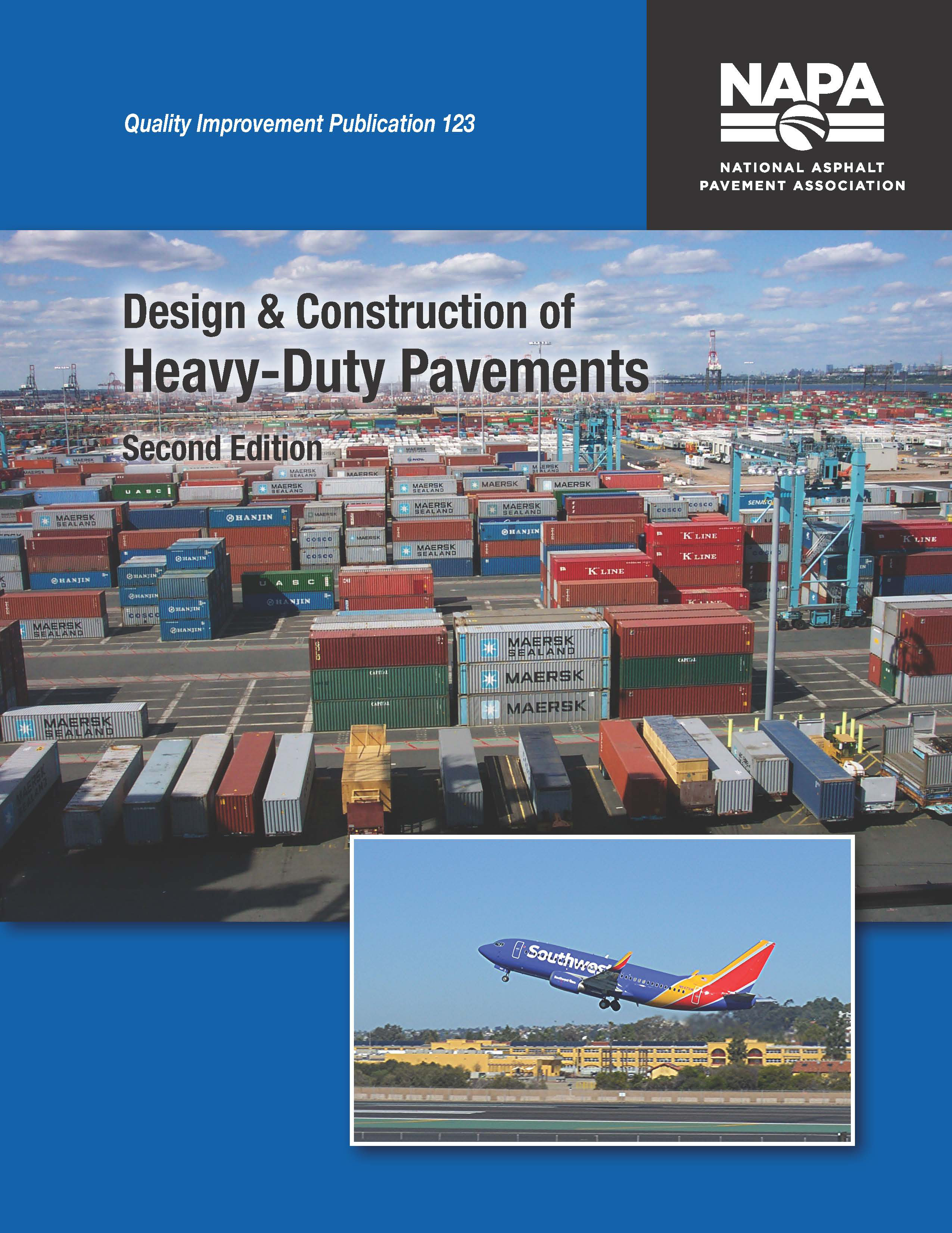 NAPA releases Design & Construction of Heavy-Duty Pavements 2nd edition