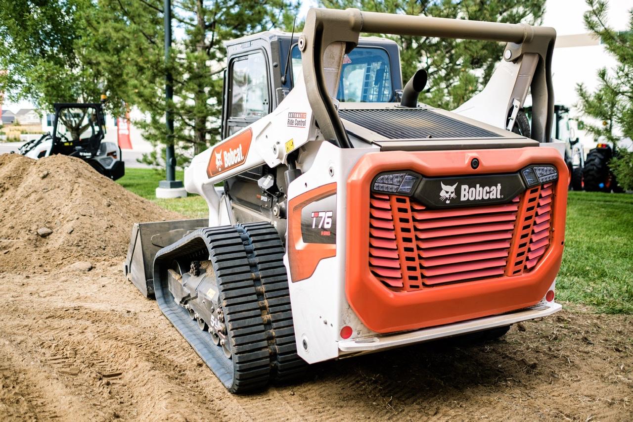 Bobcat T76 compact track loader