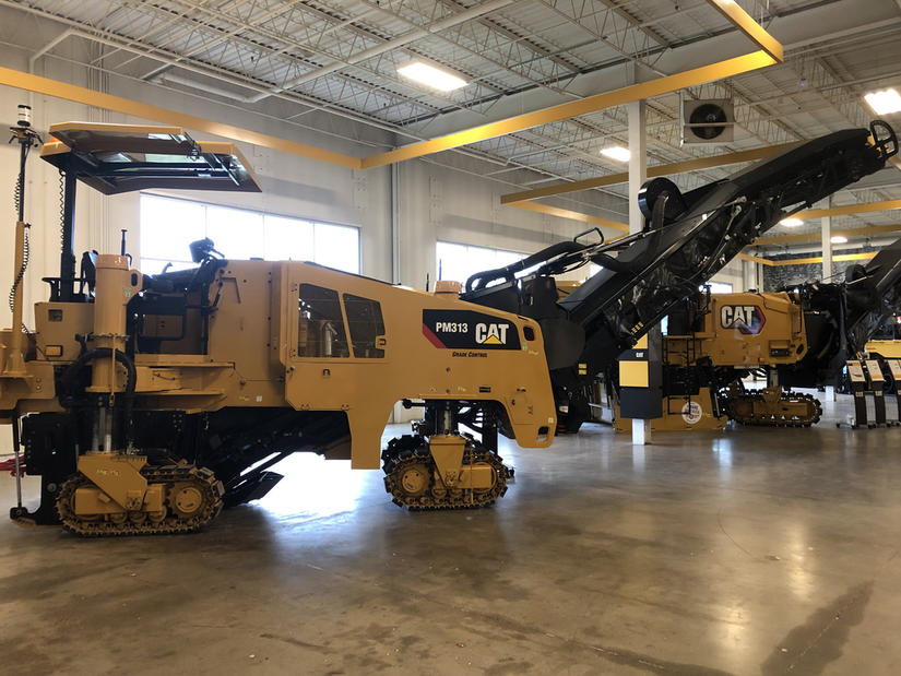 Cat updates cold planers with power boost new features to improve operation