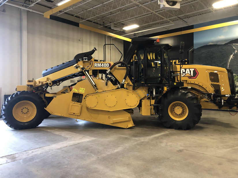 Cat unveils new RM400 Rotary Mixer with more power visibility