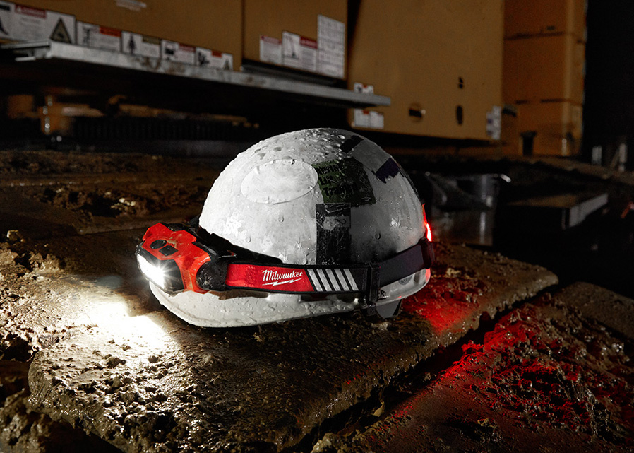 Milwaukee intros 3 new headlamps including the rechargeable Beacon which