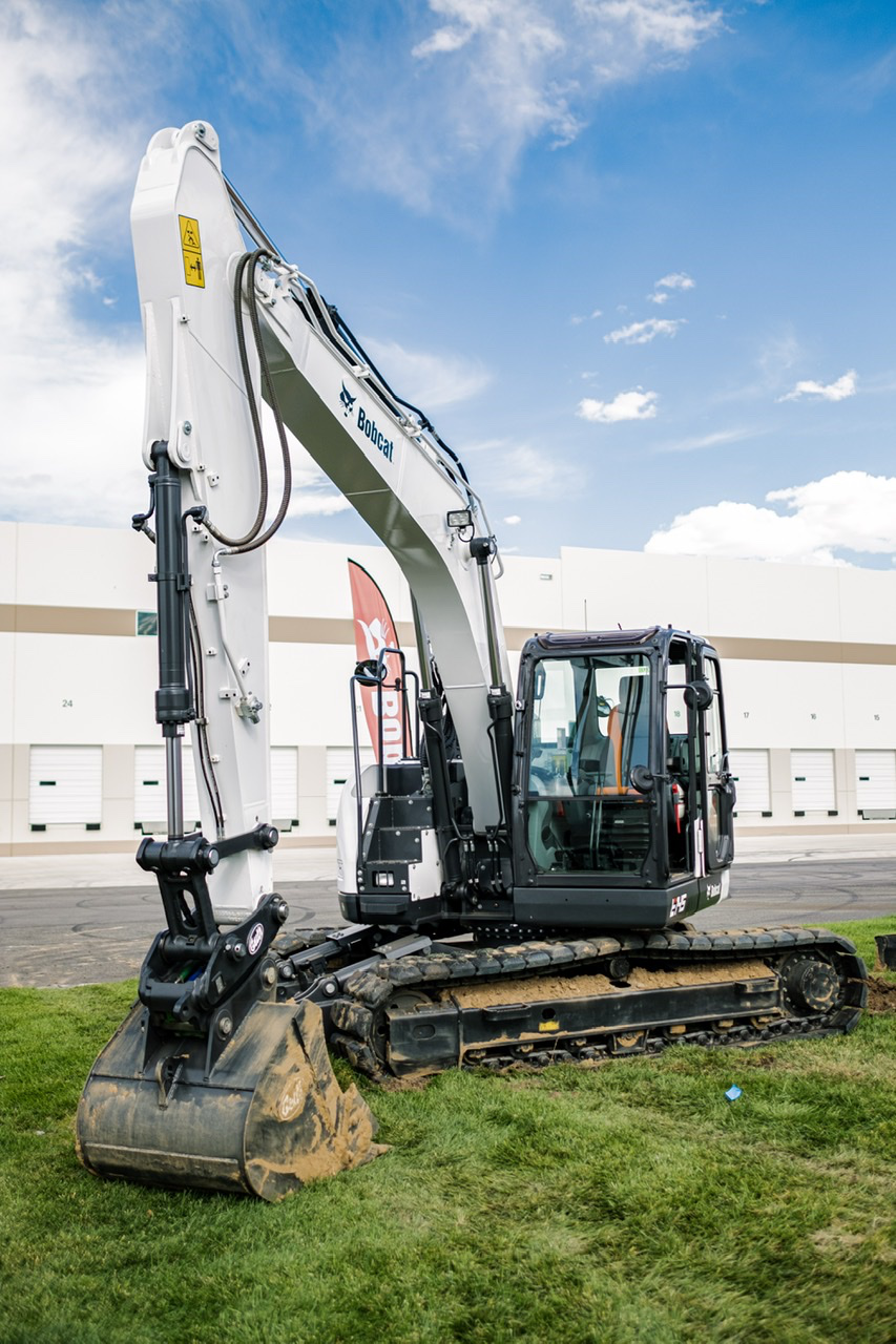 New 15 Ton E145 Is Bobcat S Largest Excavator