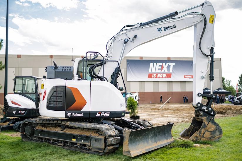Bobcat E145 excavator