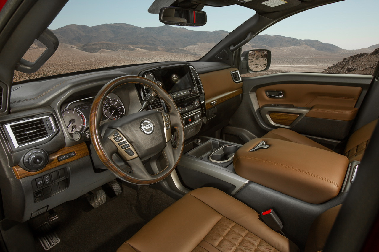 Brand New 2020 Nissan Titan Unveiled with New Tech