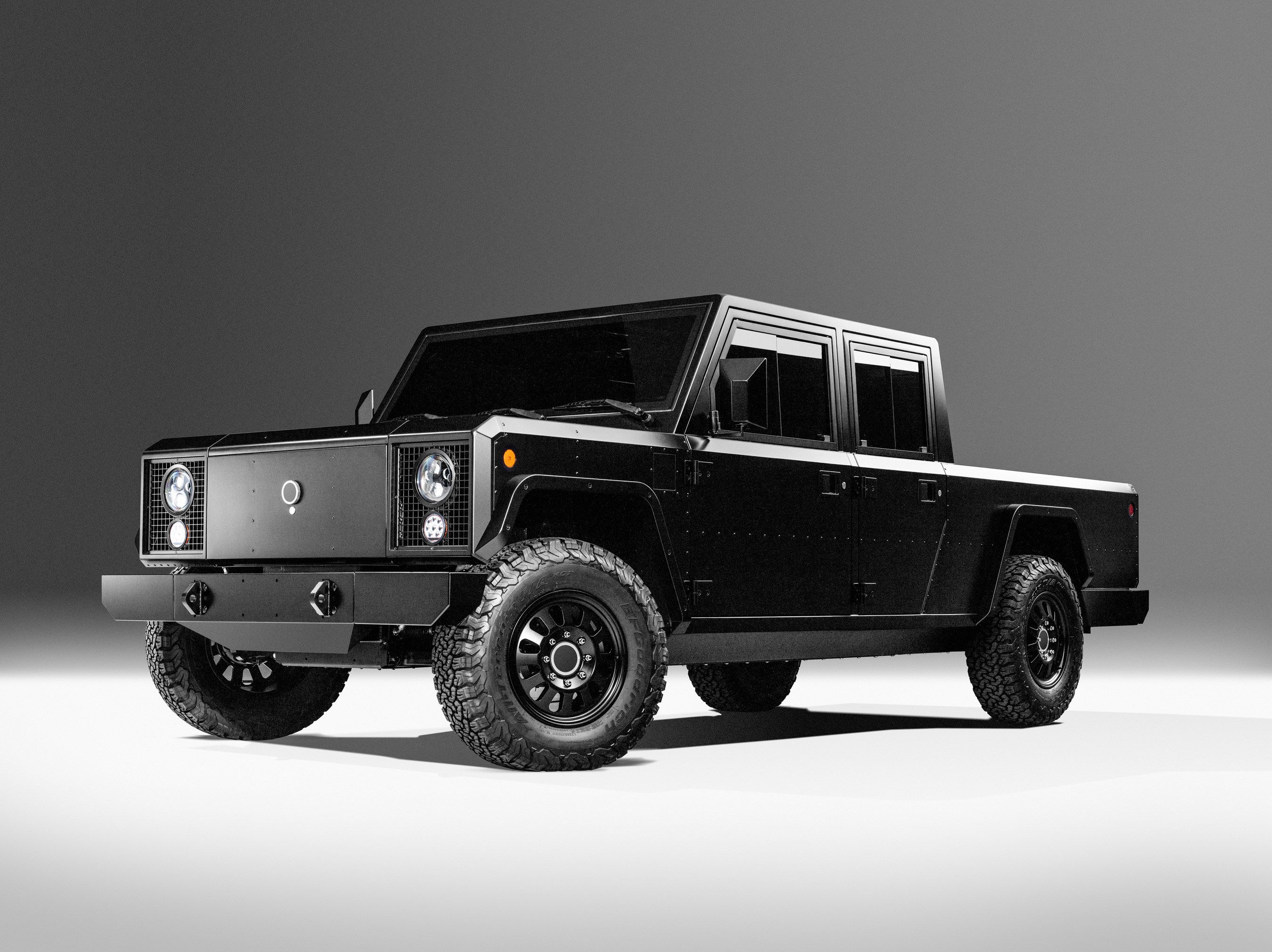2021 Bollinger B2 electric pickup truck