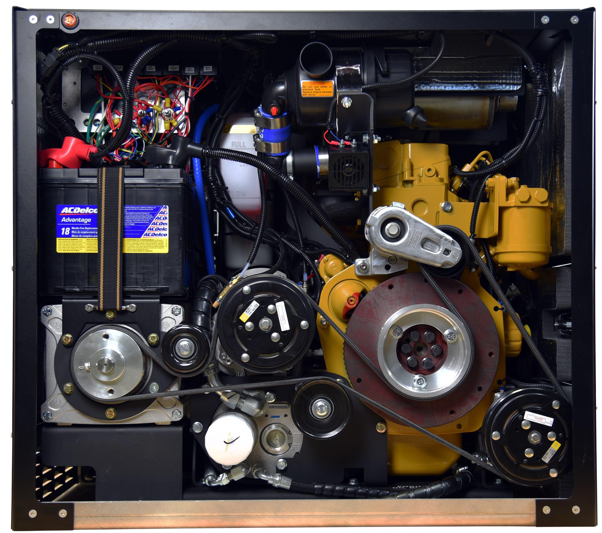 inside cat vmac multifuction power system