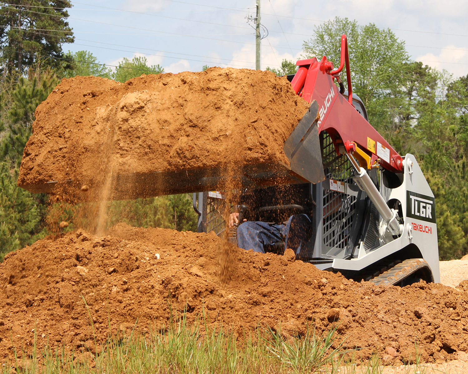 Takeuchi heavy duty equipment