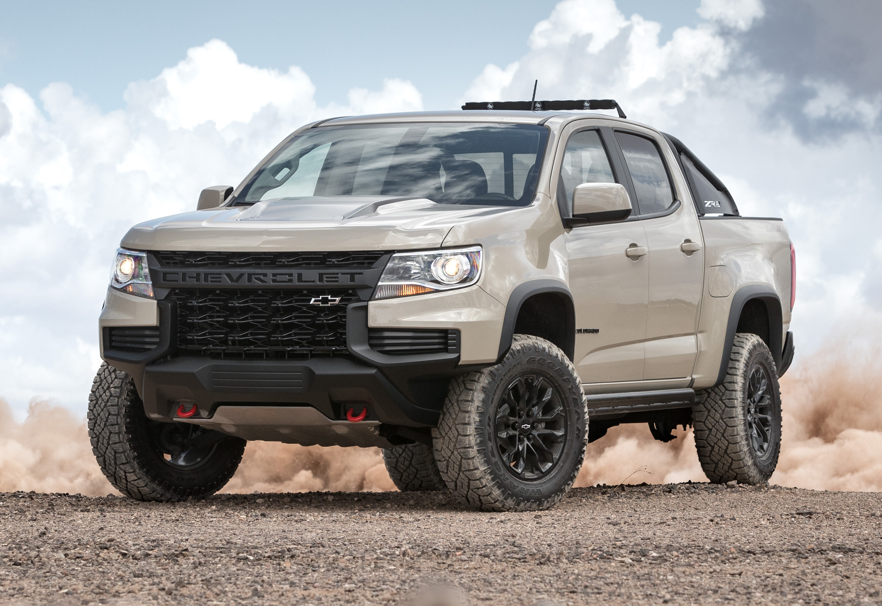 2021 Chevy Colorado ZR2 gets new front end design