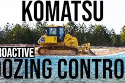 Komatsu Proactive Dozing Control Thumb