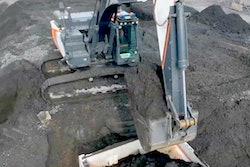 Doosan Concept X excavator loading