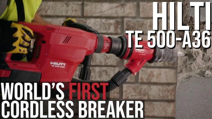 Hilti TE 500-A36 Thumb