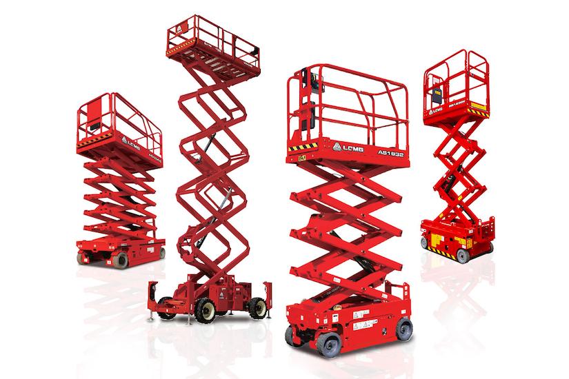 lgmg aerial work platform scissor lifts