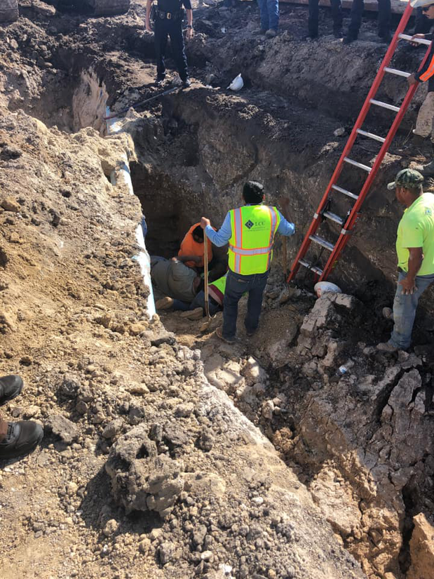 trench collapse in Texas