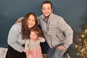 Jon Stringer with family