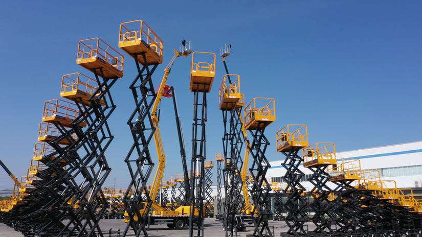 different types of aerial work platforms