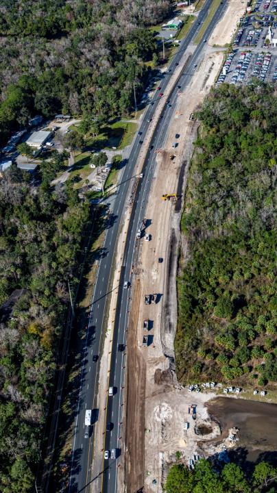 FDOT road construction project