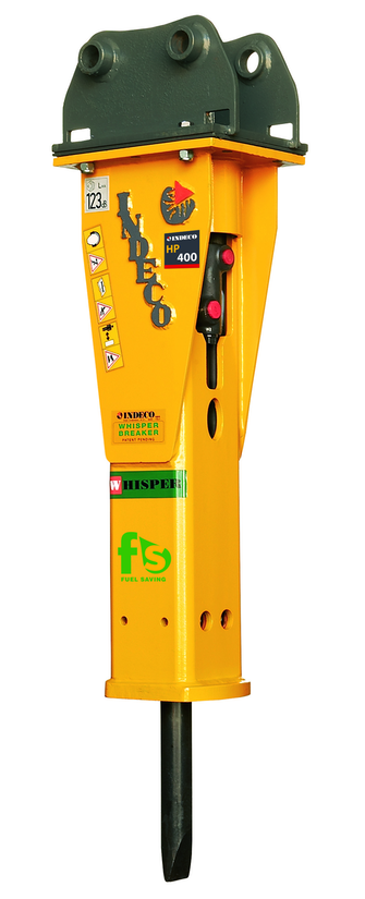 Indeco HP 400 FS hammer