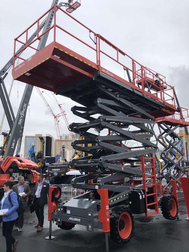 Skyjack SJ9263 RT rough terrain scissor lift