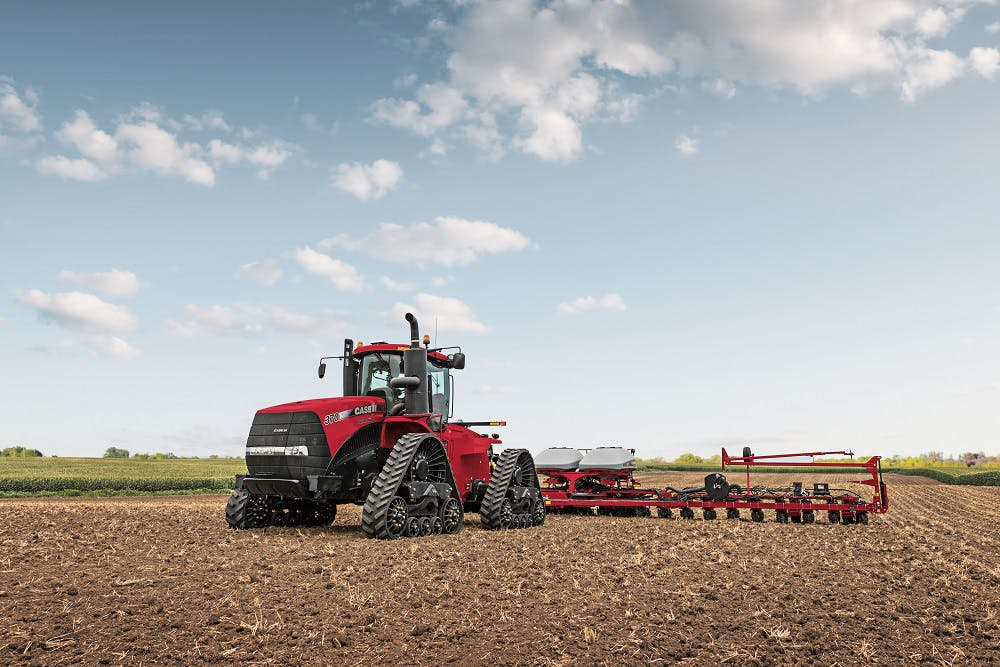 Transmission, lighting and visibility upgrades are just a few of the 2016 enhancements for Steiger tractors.
