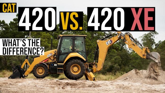 Cat 420 420 XE Thumb