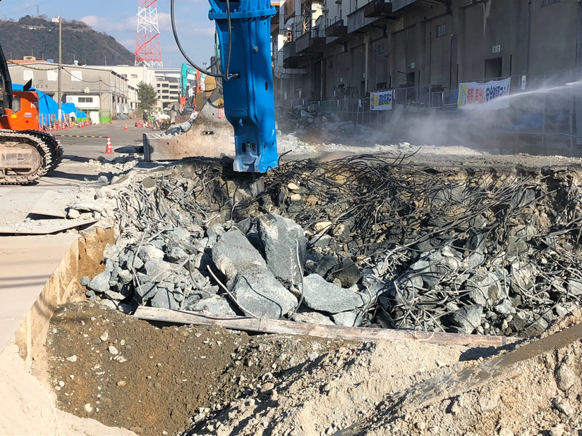 Okada Top 1000J hydraulic hammer