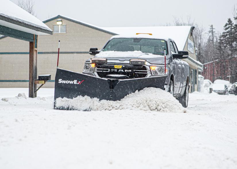 SnowEx RDV snow plow