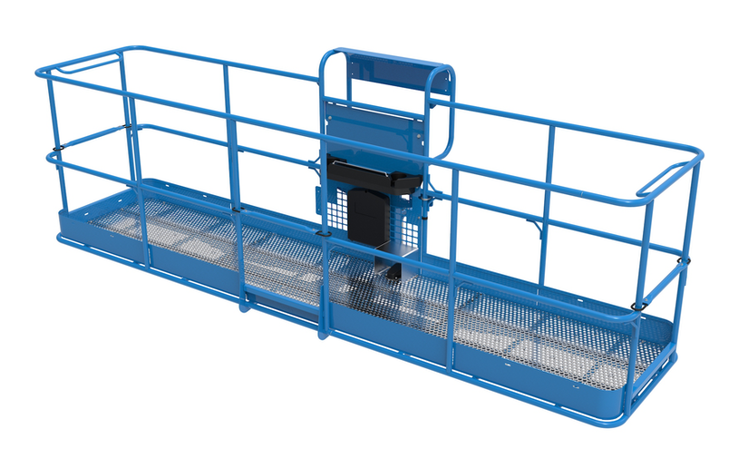 Genie's 13-foot platform for use with its S-65 XC telescopic boom lift
