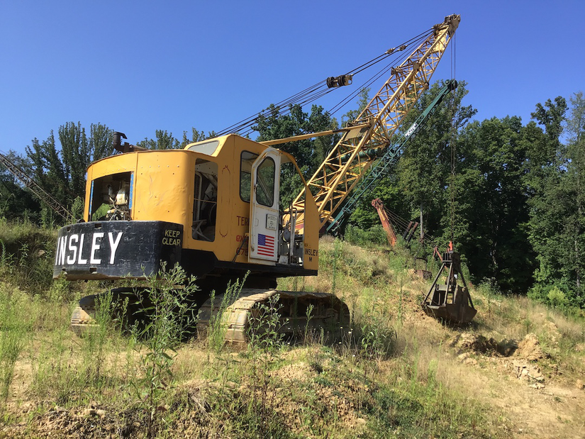 1962 Insley Type M crawler crane