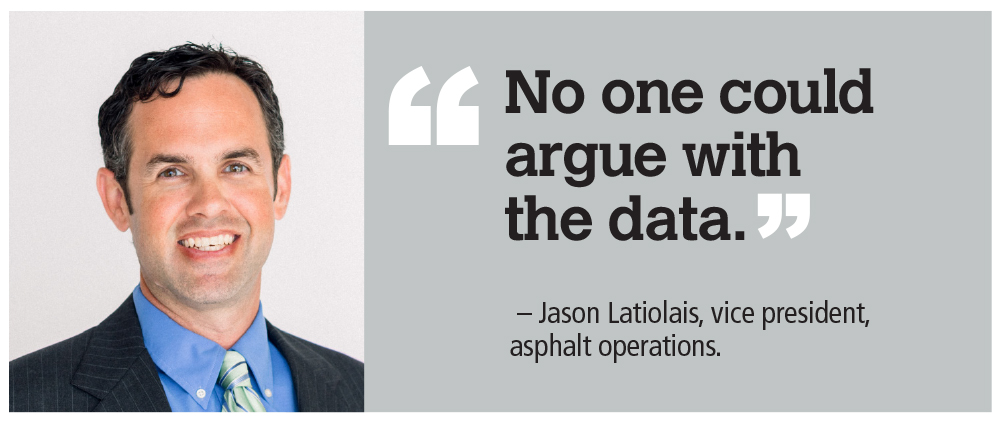"""No one could argue with the data,"" quote from Jason Latiolais"