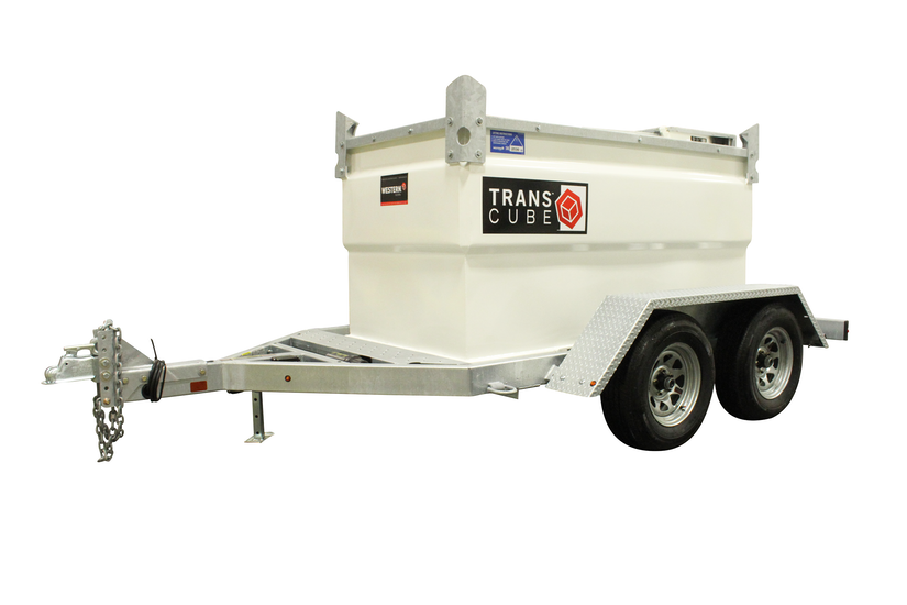 Western Global TransCube Cab mobile fuel tank