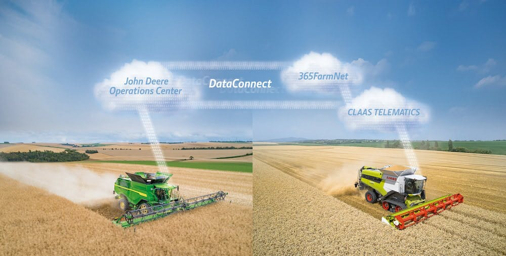 10 20 claas Data Connect