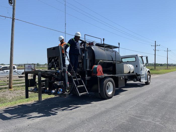 High-Volume Road Maintenance Vehicle