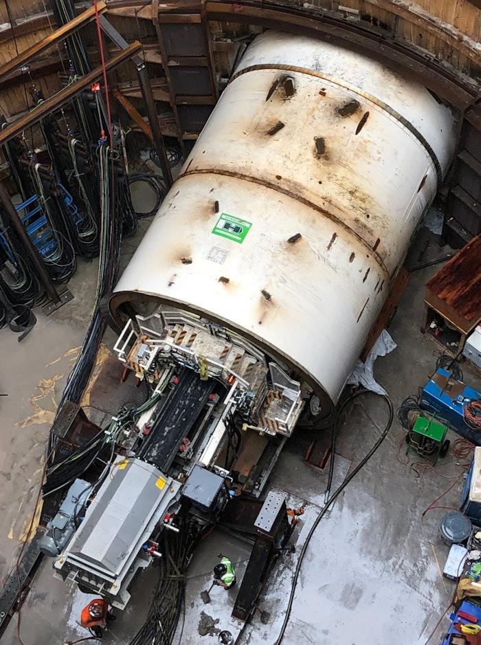 Eliza tunnel boring machine