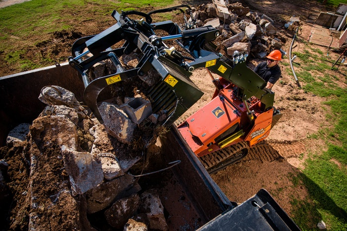 Ditch Witch SK compact utility loader