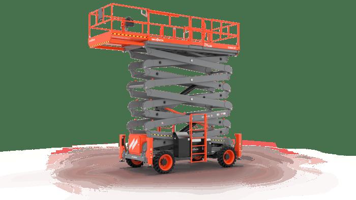 Skyjack SJ9664 RT rough terrain scissor lift