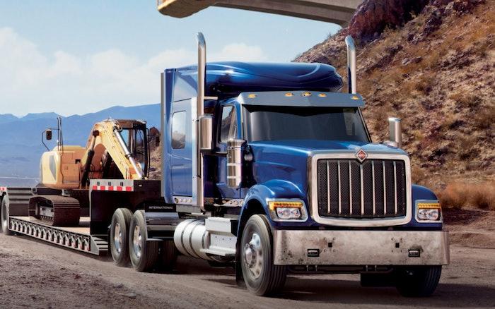 International HX Series for heavy hauling