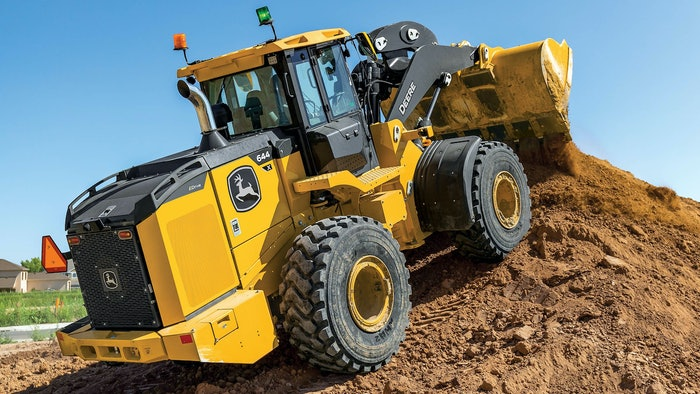 John Deere 644 X tier wheel loader