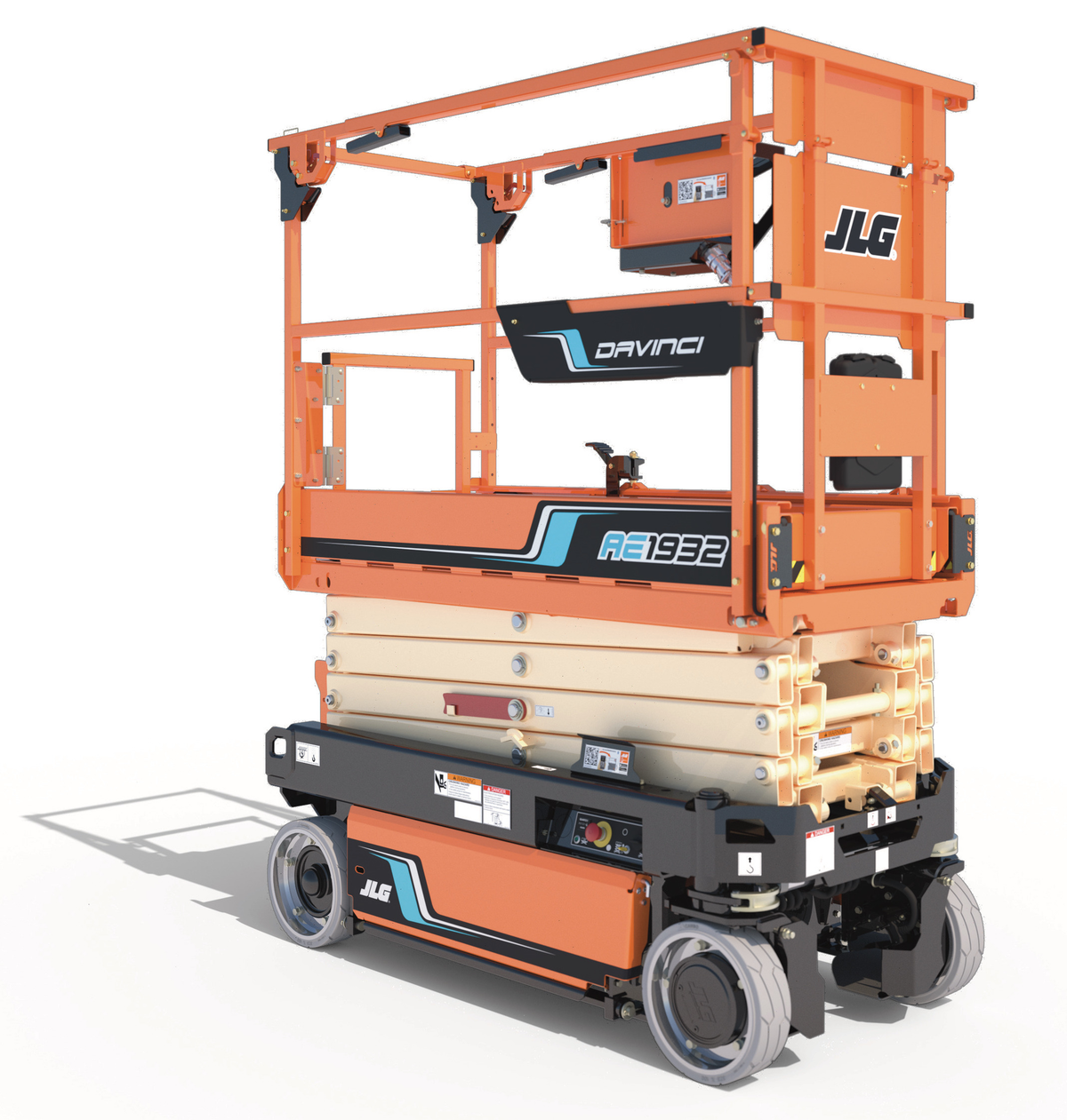 Cracking the DaVinci Code: How JLG Created the All-Electric DaVinci Scissor Lift With No Hydraulics