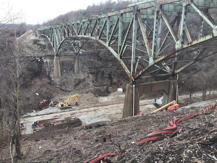 Pennsylvania Bridge Implosion
