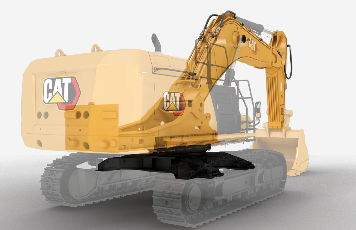 With increased boom, stick and frame thicknesses, Cat says the 374 is twice as strong in those areas as its predecessor 374F.