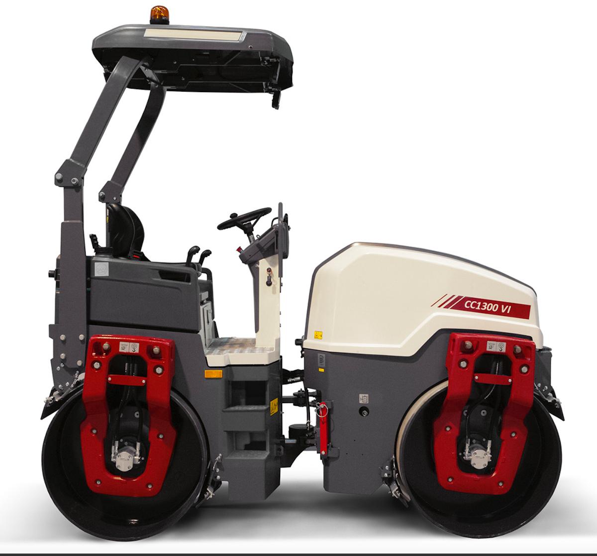 Dynapac's new CC1300 VI compactor improves operator visibility, comfort